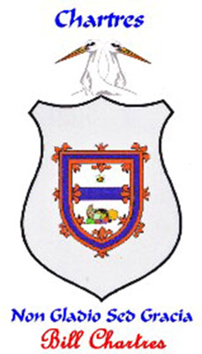Chartres family crest