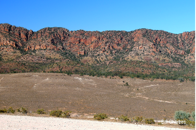Chase Range viewed from Pugilist Hill Lookout 2005
