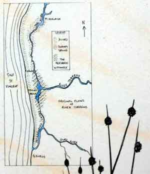 Map of The Reedbeds