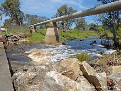 The River Torrens, Black Snake Road, Birdwood, SA