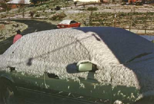 Snow at Lobethal 1996